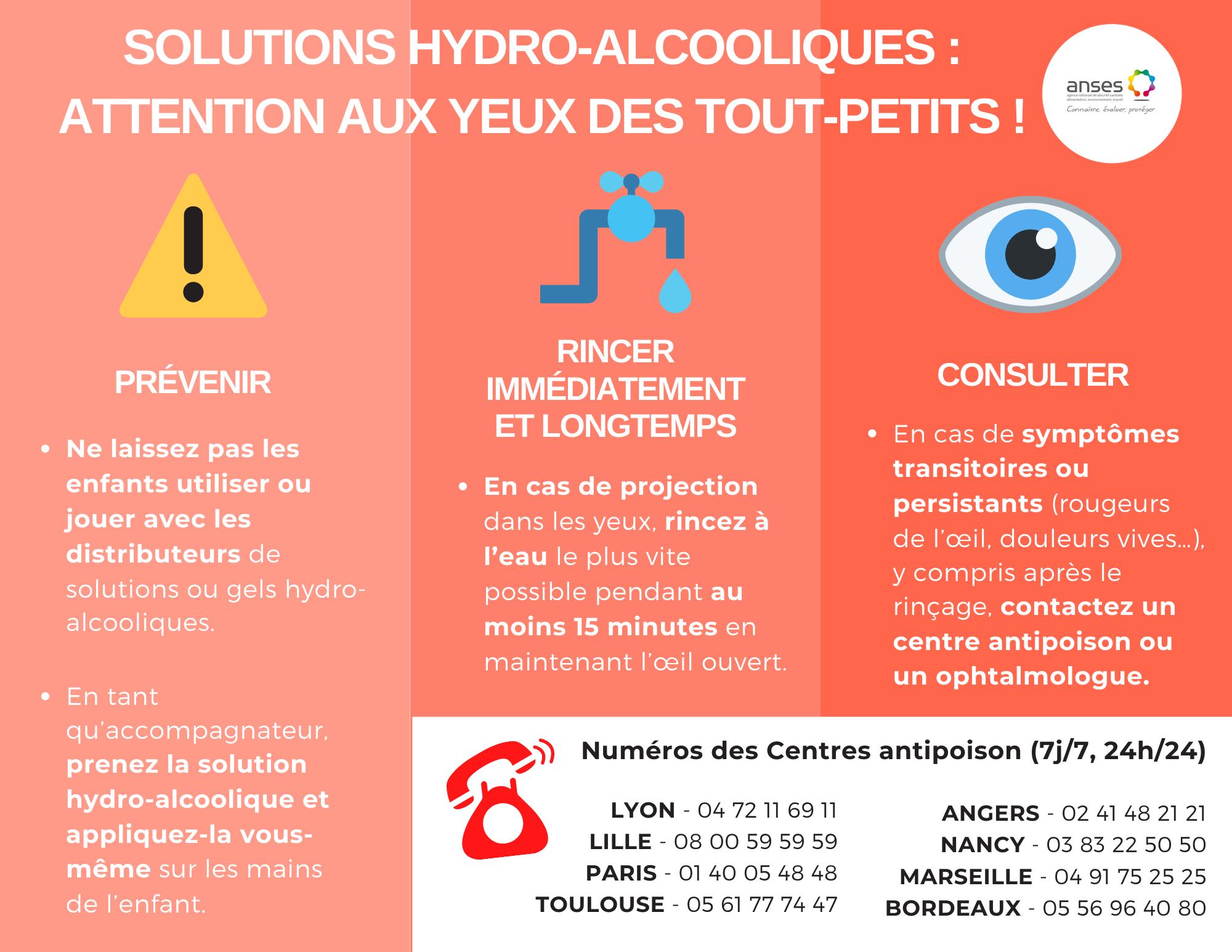 Solutions hydro-alcooliques : attention aux projections accidentelles dans les yeux des enfants. SHA%20enfantsdef